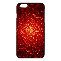 Abstract Red Lava Effect Iphone 6 Plus/6s Plus Tpu Case