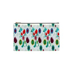 Lindas Flores Colorful Flower Pattern Cosmetic Bag (small)