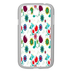 Lindas Flores Colorful Flower Pattern Samsung Galaxy Grand Duos I9082 Case (white)