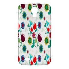 Lindas Flores Colorful Flower Pattern Samsung Galaxy Mega 6.3  I9200 Hardshell Case