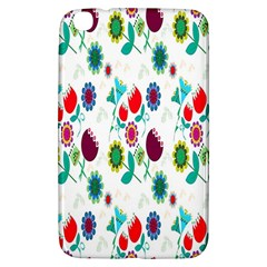Lindas Flores Colorful Flower Pattern Samsung Galaxy Tab 3 (8 ) T3100 Hardshell Case