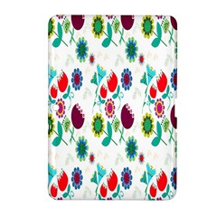 Lindas Flores Colorful Flower Pattern Samsung Galaxy Tab 2 (10 1 ) P5100 Hardshell Case