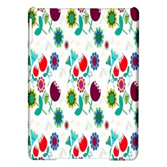 Lindas Flores Colorful Flower Pattern iPad Air Hardshell Cases