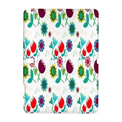 Lindas Flores Colorful Flower Pattern Galaxy Note 1