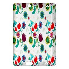 Lindas Flores Colorful Flower Pattern Amazon Kindle Fire Hd (2013) Hardshell Case