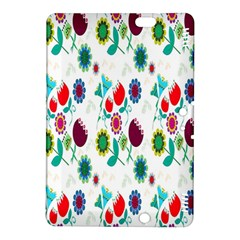 Lindas Flores Colorful Flower Pattern Kindle Fire HDX 8.9  Hardshell Case