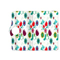 Lindas Flores Colorful Flower Pattern Kindle Fire HDX 8.9  Flip 360 Case