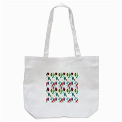 Lindas Flores Colorful Flower Pattern Tote Bag (white)