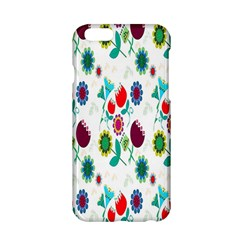 Lindas Flores Colorful Flower Pattern Apple iPhone 6/6S Hardshell Case