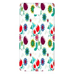 Lindas Flores Colorful Flower Pattern Galaxy Note 4 Back Case