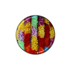 Colorful Hawaiian Lei Flowers Hat Clip Ball Marker