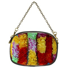 Colorful Hawaiian Lei Flowers Chain Purses (two Sides)