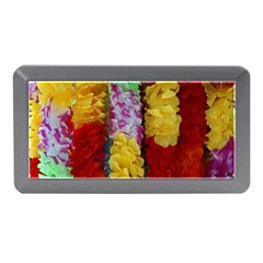Colorful Hawaiian Lei Flowers Memory Card Reader (Mini)