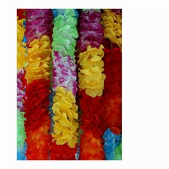 Colorful Hawaiian Lei Flowers Small Garden Flag (Two Sides)