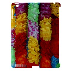 Colorful Hawaiian Lei Flowers Apple iPad 3/4 Hardshell Case (Compatible with Smart Cover)