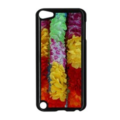 Colorful Hawaiian Lei Flowers Apple iPod Touch 5 Case (Black)
