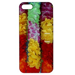 Colorful Hawaiian Lei Flowers Apple iPhone 5 Hardshell Case with Stand