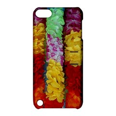 Colorful Hawaiian Lei Flowers Apple iPod Touch 5 Hardshell Case with Stand