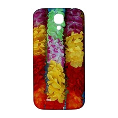 Colorful Hawaiian Lei Flowers Samsung Galaxy S4 I9500/I9505  Hardshell Back Case
