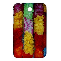 Colorful Hawaiian Lei Flowers Samsung Galaxy Tab 3 (7 ) P3200 Hardshell Case