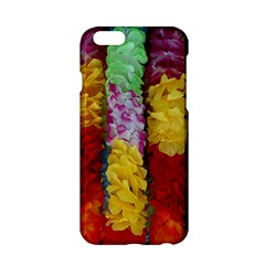 Colorful Hawaiian Lei Flowers Apple iPhone 6/6S Hardshell Case
