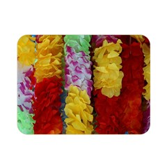 Colorful Hawaiian Lei Flowers Double Sided Flano Blanket (mini)