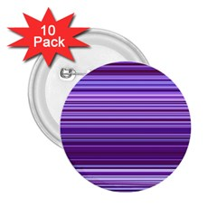 Stripe Colorful Background 2.25  Buttons (10 pack)