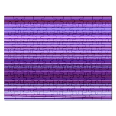 Stripe Colorful Background Rectangular Jigsaw Puzzl