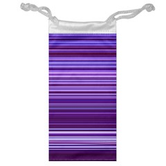 Stripe Colorful Background Jewelry Bag