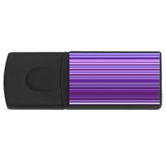 Stripe Colorful Background Usb Flash Drive Rectangular (4 Gb)