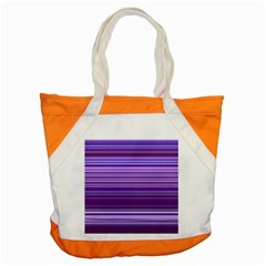 Stripe Colorful Background Accent Tote Bag
