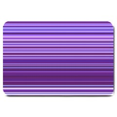 Stripe Colorful Background Large Doormat