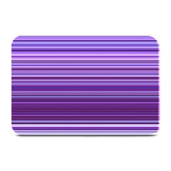 Stripe Colorful Background Plate Mats