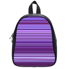 Stripe Colorful Background School Bags (small)