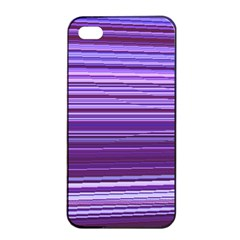 Stripe Colorful Background Apple Iphone 4/4s Seamless Case (black)