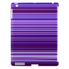 Stripe Colorful Background Apple iPad 3/4 Hardshell Case (Compatible with Smart Cover)