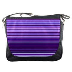 Stripe Colorful Background Messenger Bags