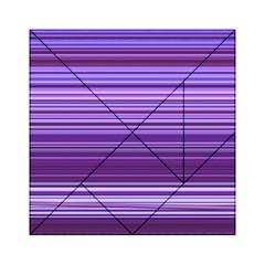 Stripe Colorful Background Acrylic Tangram Puzzle (6  x 6 )