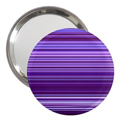 Stripe Colorful Background 3  Handbag Mirrors