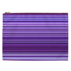 Stripe Colorful Background Cosmetic Bag (XXL)