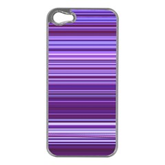 Stripe Colorful Background Apple iPhone 5 Case (Silver)