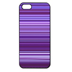 Stripe Colorful Background Apple iPhone 5 Seamless Case (Black)