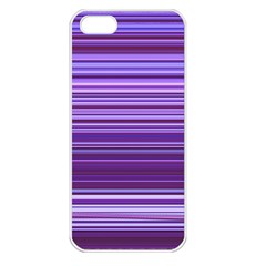 Stripe Colorful Background Apple Iphone 5 Seamless Case (white)