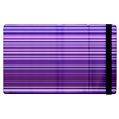 Stripe Colorful Background Apple Ipad 2 Flip Case