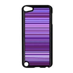 Stripe Colorful Background Apple iPod Touch 5 Case (Black)