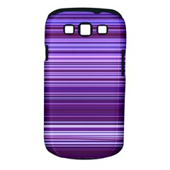 Stripe Colorful Background Samsung Galaxy S III Classic Hardshell Case (PC+Silicone)