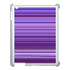 Stripe Colorful Background Apple Ipad 3/4 Case (white)