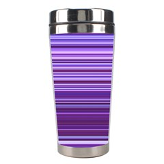 Stripe Colorful Background Stainless Steel Travel Tumblers