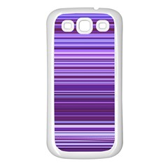 Stripe Colorful Background Samsung Galaxy S3 Back Case (White)