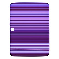 Stripe Colorful Background Samsung Galaxy Tab 3 (10 1 ) P5200 Hardshell Case